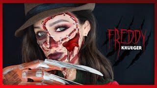 FREDDY KRUEGER: ME ASUSTA PERO ME GUSTA! | HALLOWEEN MAKEUP TUTORIAL