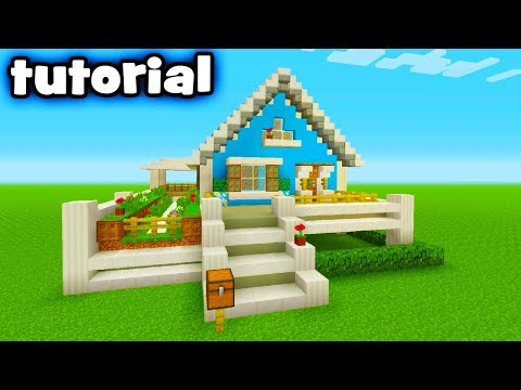 Minecraft Tutorial: How To Make A Small Suburban House