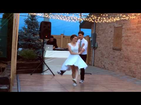 Lindy Hop Swing Wedding Dance