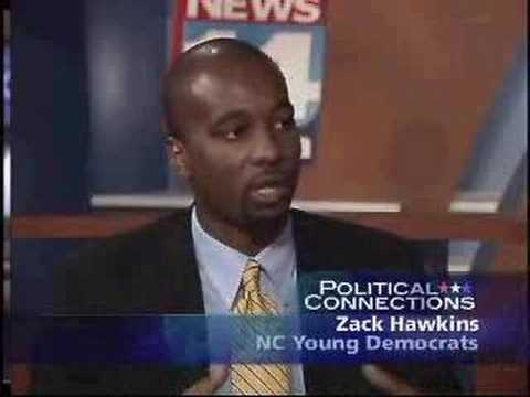 Zack Hawkins NC Young Dems on News 14