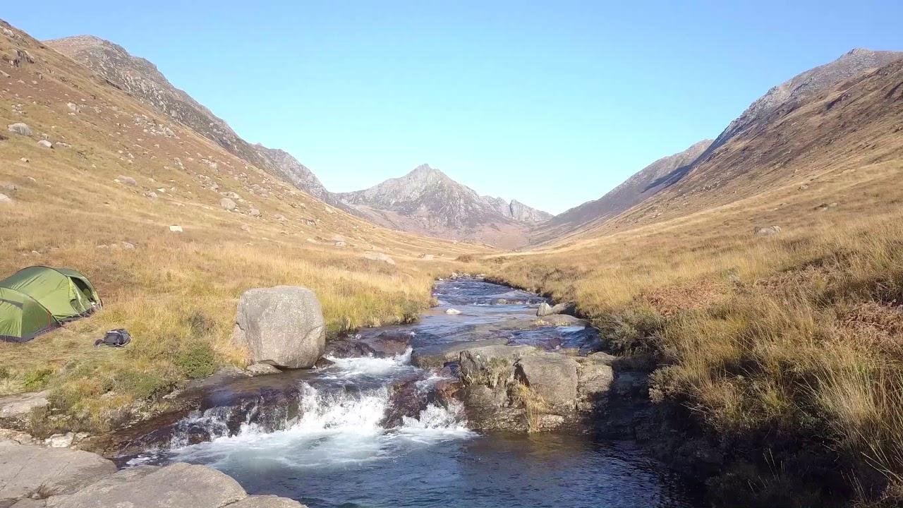Isle of Arran Glen Rosa wild camping - Robens Voyager 3EX ...