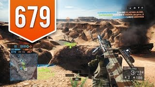 BATTLEFIELD 4 (PS4) - Road to Max Rank - Live Multiplayer Gameplay #679 - FUN ON THE SILK ROAD!