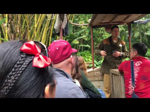 Disneyland Jungle Cruise in 4K - January 2018