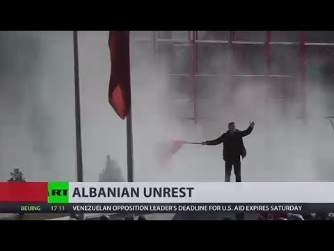 Albania on fire: Thousands rally against alleged govt links to crime in Tirana