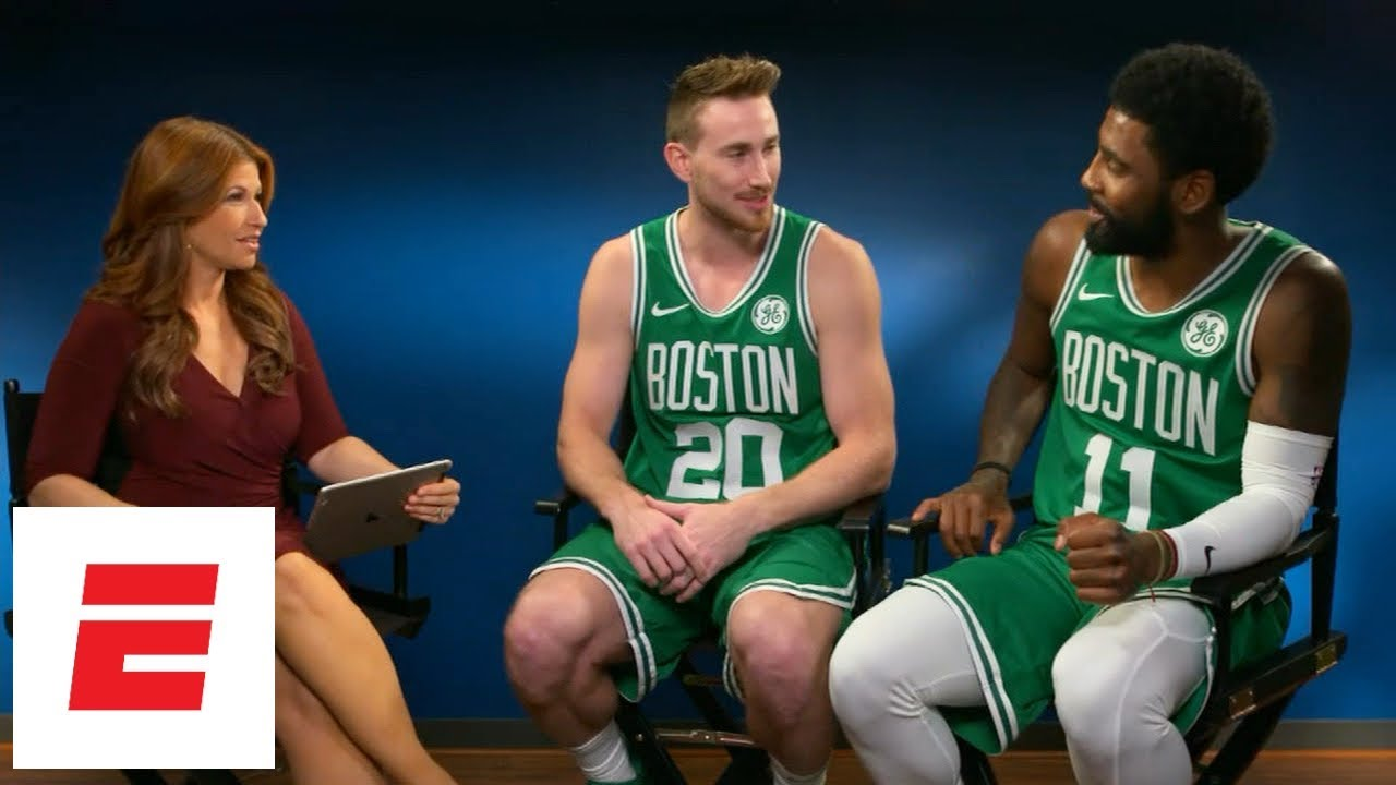 Kyrie Irving, Gordon Hayward talk all things Boston Celtics with Rachel Nichols   ESPN