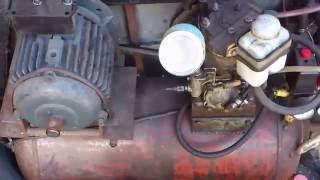 самодельный компрессор с зил 130
