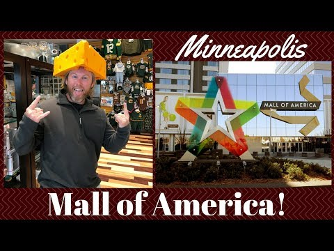 MINNEAPOLIS:  Exploring Mall of America... and eating of course!
