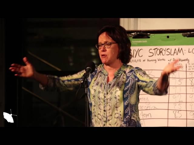 Gail Thomas Moth StorySLAM Winner