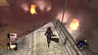 Bloodrayne (PC) walkthrough - Walls of Jericho