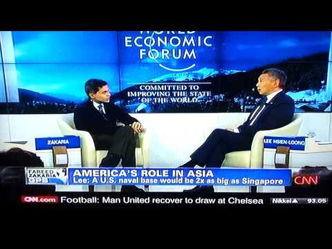 CNN interview with Singapore PM Lee hsien loong-P1