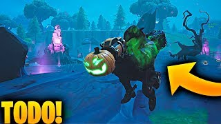 """ALL NEW IN FORTNITE IN THIS VIDEO!! New weapon, skins.. """"HALLOWEEN UPDATE 2018"""""""