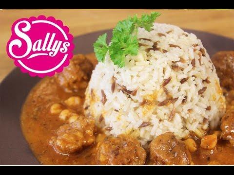 Milas Köfte - Hauptgericht mit Hackfleischbällchen und Kichererbsen in Tomatensoße / Sallys Welt