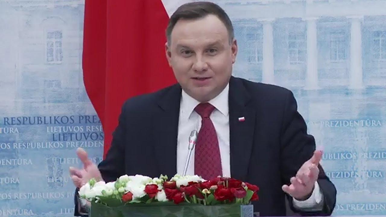 Prezydent miażdży Gazprom i Nord Stream II oraz przedstawia koncepcję Polski na dostawę gazu