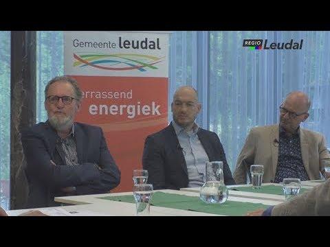 Politiek Leudal, gesprek met de wethouders.