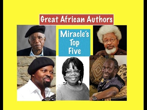 Miracle's Top Five: Great African Authors
