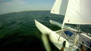 KITE SURF VS CATAMARAN .mov