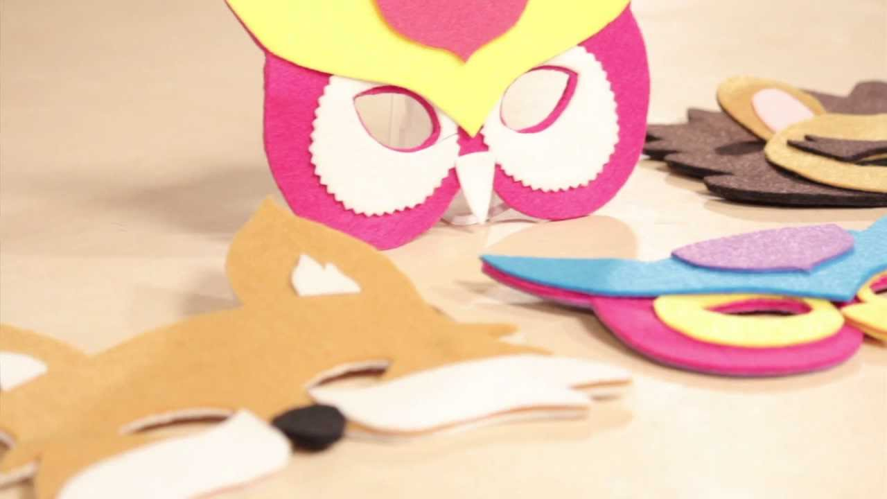 Creativity Made Simple with Jo-Ann Make Kidsu0027 Masks with Phoomph - YouTube & Creativity Made Simple with Jo-Ann: Make Kidsu0027 Masks with Phoomph ...