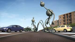 Animatie bewegende beelden boulevard scheveningen