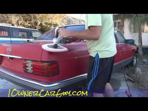 Buff Polish Cars Buffing Car DIY  Detailing How To Auto Detail ~ Part #1