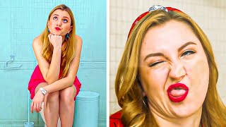 CRAZY BATHROOM HACKS AND PRANKS || Bathroom DIY Hacks And Pranks You Need To Know