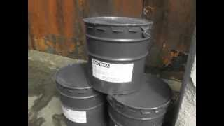 видео Обмазочная гидроизоляция фундамента битумной мастикой