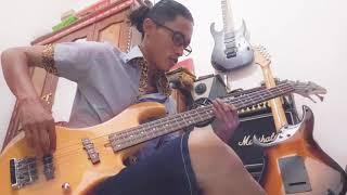 "Gambar cover Sesuatu Yang Indah - Padi ( Bass Cover "" SS "" )"
