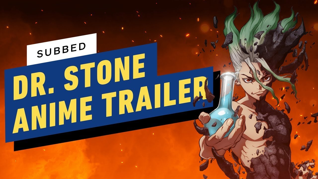 Dr Stone Official Anime Trailer English Sub