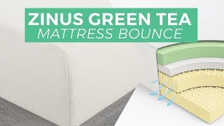 Zinus Green Tea Memory Foam Mattress Slow Motion(, 2016-07-24T15:50:48.000Z)