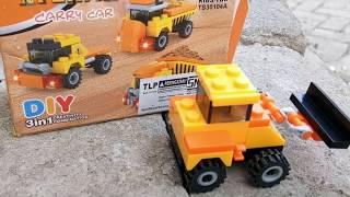 Cara  Membut Buldozer dengan Menggunakan Lego | Mainan Anak | Edukasi