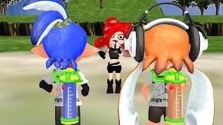 (MMD) Splatoon - WHAT ARE THOSE?! Those shoes?