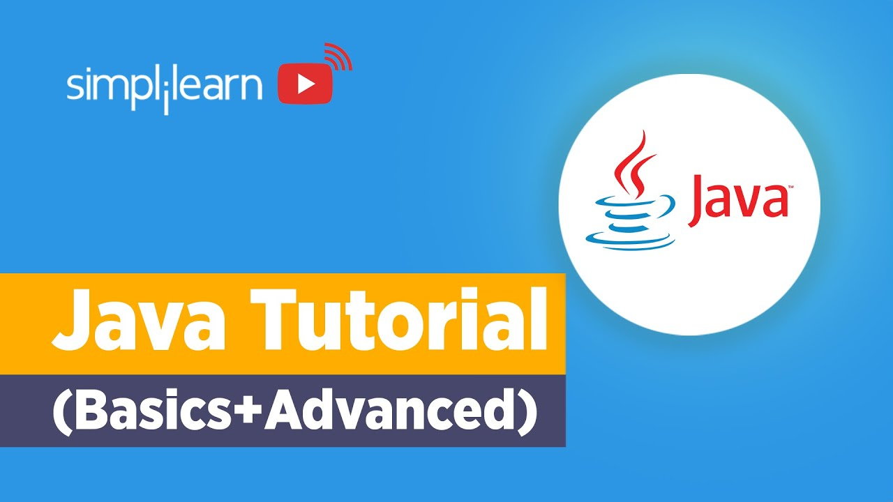 Java Tutorial For Beginners | Java Basics To Advanced | Java Programming For Beginners