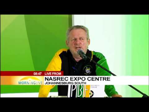Trade Minister Rob Davies addresses PBF at ANC elective conference