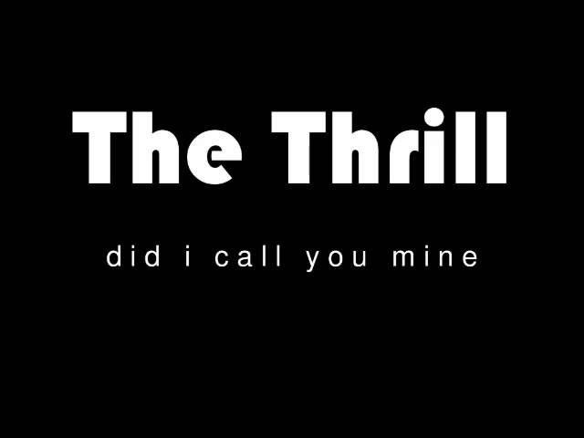 Did I Call You Mine