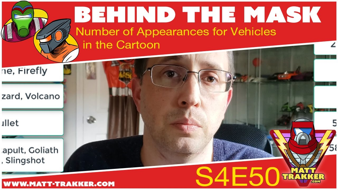 Number of Appearances: Vehicles  - S4E50