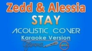 Zedd & Alessia Cara - Stay KARAOKE (Acoustic) by GMusic