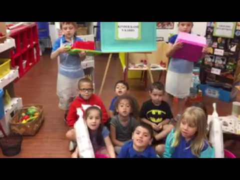 Kindergarten class at Boca Raton Preschool