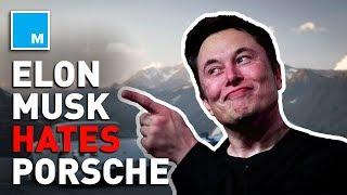 Elon Musk DUNKS ON Porsche's Electric Car
