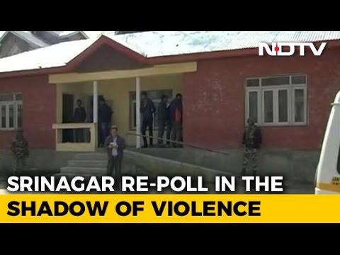 1% Voter Turnout In Srinagar Re-Polling, Farooq Abdullah A Candidate