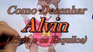 Como Desenhar Alvin Alvin E Os Esquilos Desenha Facil By