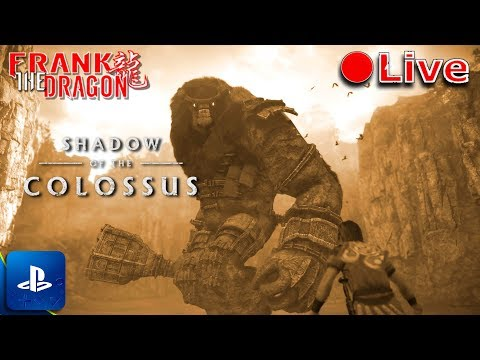 Shadow of the Colossus PS4 HD Remake | Live Game-Play | My First Look