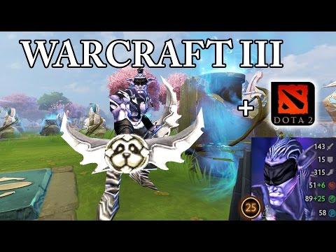 WarCraft 3 Characters in Dota 2 - Illidan Stormrage!