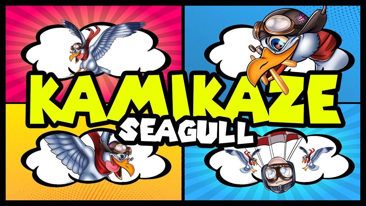 Alan Aztec - Kamikaze Seagull (feat. Steve Heller)