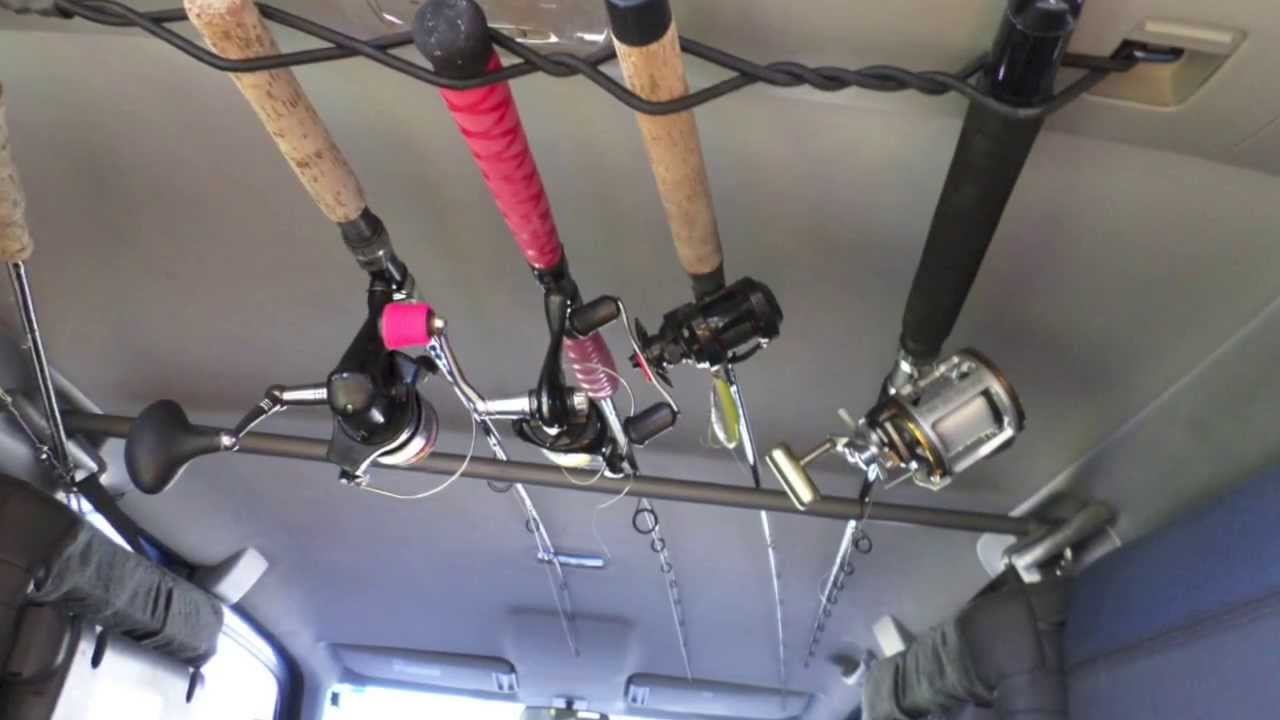 Yakntexas Rodrack Inside My Honda Element Kayak Fishing