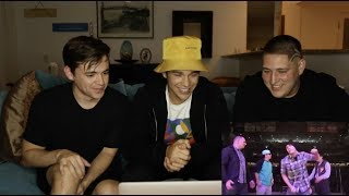 Austin Mahone REACTING TO MY OLD (CRINGY) S!