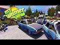 MY SUMMER DEMOLITION DERBY! MOST POWERFUL MAN IN FINLAND - My Summer Car Gameplay Highlights Ep 79