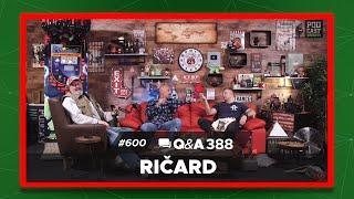 Podcast Inkubator #600 Q&A 388 - Ričard