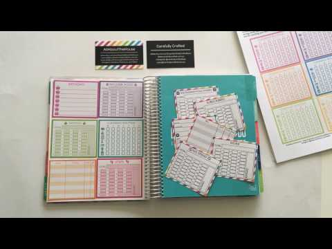 How to use the blank notes pages of your Erin Condren or any Planner