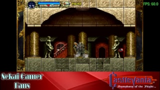 Castlevania Symphony of the night PSP 01 - A ver que tal me va