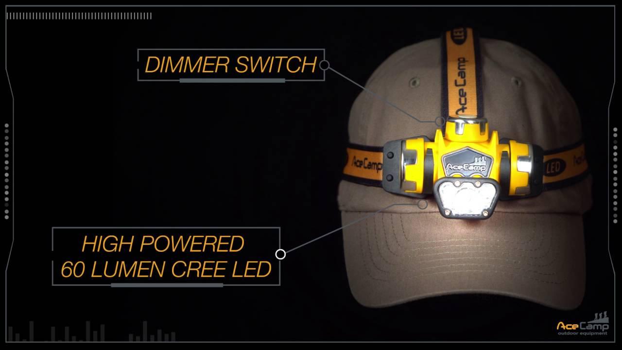 AceCamp 9101 2-Hole Aluminum Guy Line Adjusters 10 Piece Orange