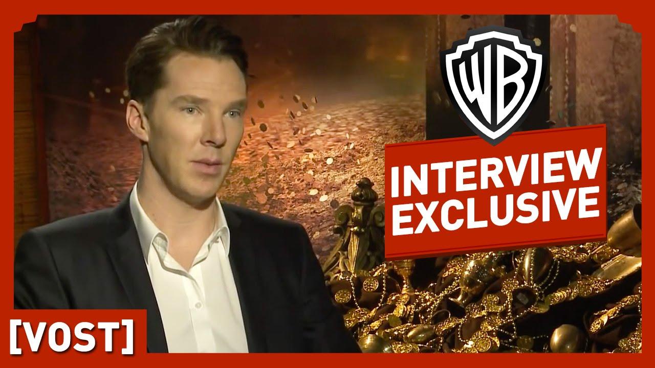 Le Hobbit - Interview Benedict Cumberbatch (VOST) - Peter Jackson